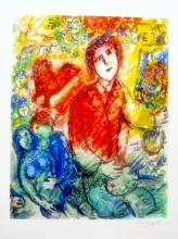Marc Chagall Artist And Lovers