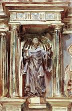 JOHN SINGER SARGENT - IN A CHURCH AT GRANADA