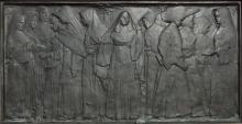 CAROL HIGHSMITH - THE NUNS OF THE BATTLEFIELD MONUMENT, M ST., NW, WASHINGTON, D.C.