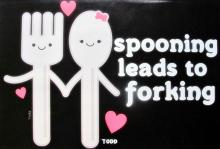 Todd Goldman  Spooning Leads To Forking