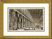 Giovanni Battista Piranesi - Interior of The Basilica of S. Maria Maggiore, Rome