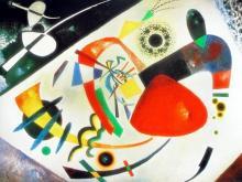 Wassily Kandinsky Red Spot Ii