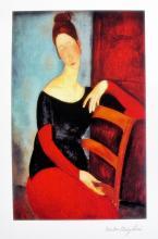 Amadeo Modigliani The Artist?s Wife 1918