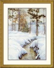 Walter Launt Palmer - Snowladen Brook