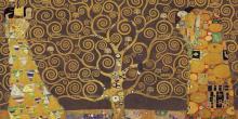 GUSTAV KLIMT - TREE OF LIFE (BROWN VARIATION) IV