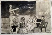 WINSLOW HOMER - THE MUSIC LESSON
