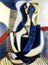 Pablo Picasso Seated Woman