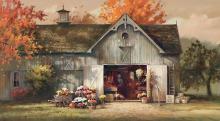 Paul Landry   Autumn Barn