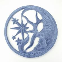 Art Moon and Star Wall Plaque