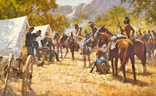 Howard Terpning - Major North And The Pawnee Battalion
