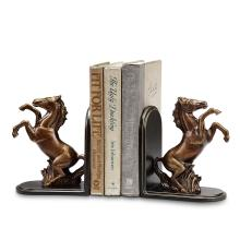 Rearing Horse Bookends