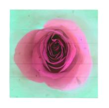 Rose By Hal Halli Painting Print On Decorative Wood Wall Décor