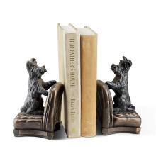 Perky Scottie Dog Bookends
