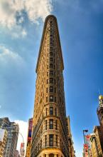 Flat Iron Building New York. A Gallery Wrapped Canvas By Kelly Wade