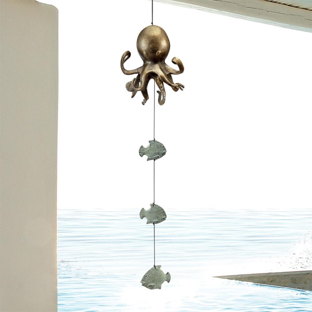 Octopus and Fish Wind Bell