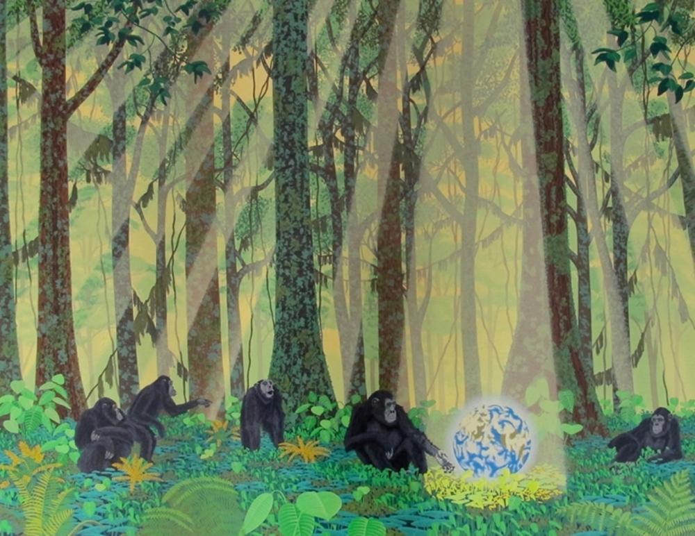 William Schimmel Chimps Earth