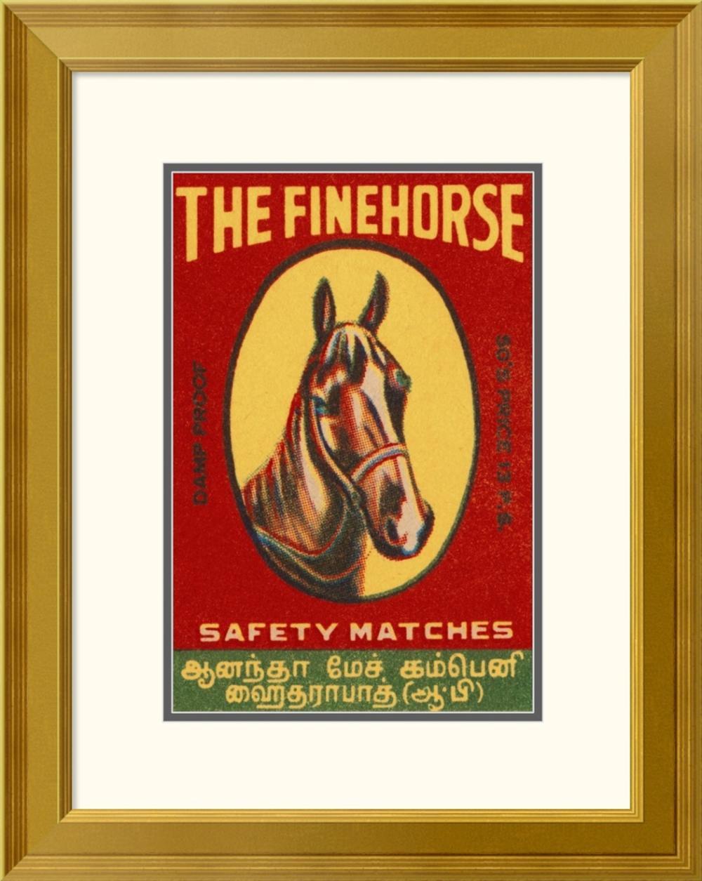 PHILLUMENART - THE FINE HORSE SAFETY MATCHES