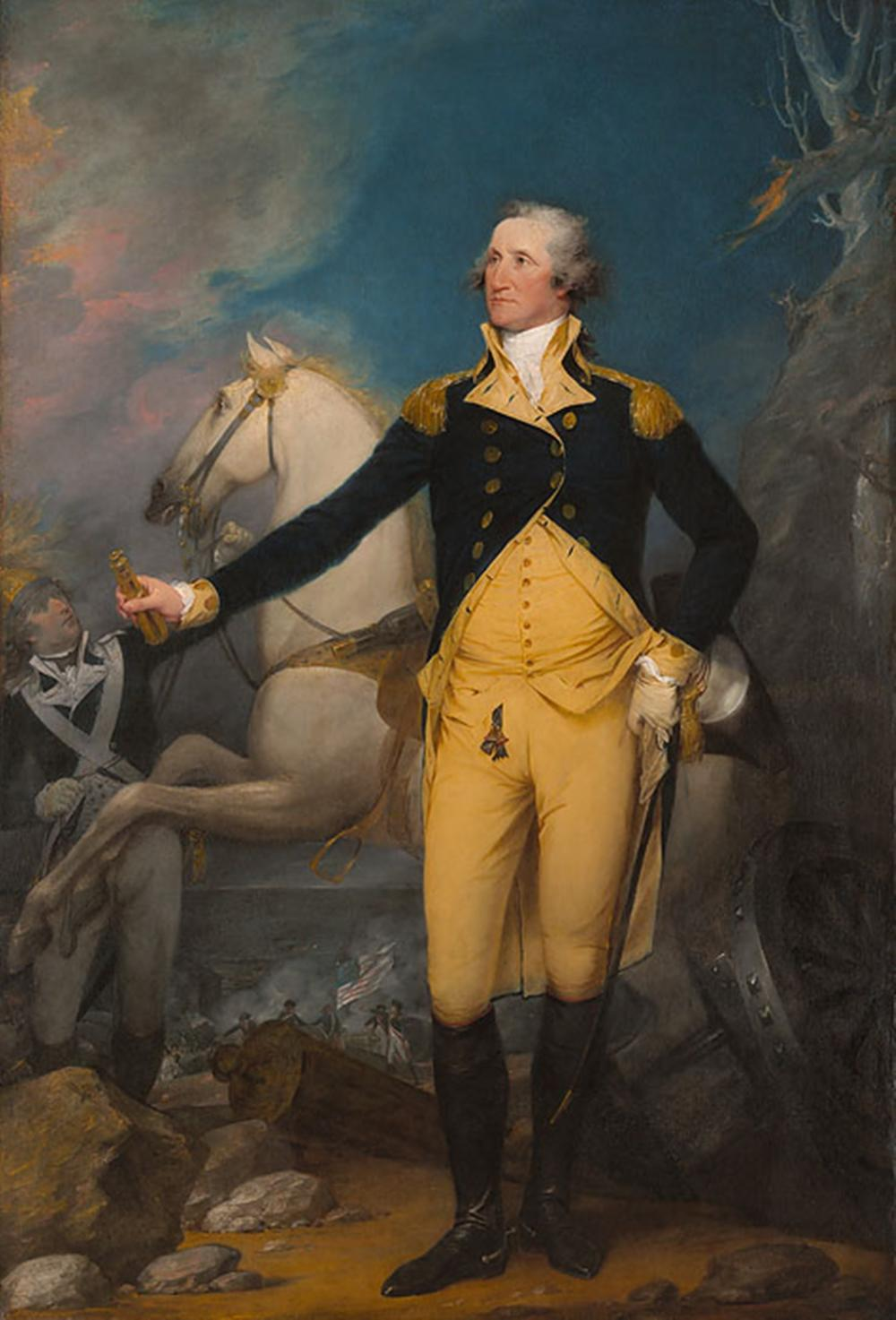 John Trumbull…General George Washington At Trenton