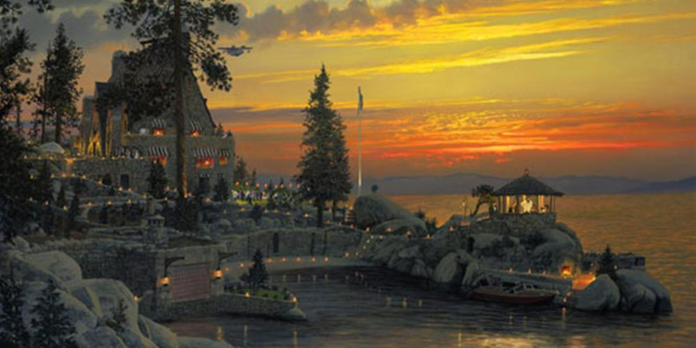 William S. Phillips…An Evening To Remember At Thunderbird Lodge, Lake Tahoe