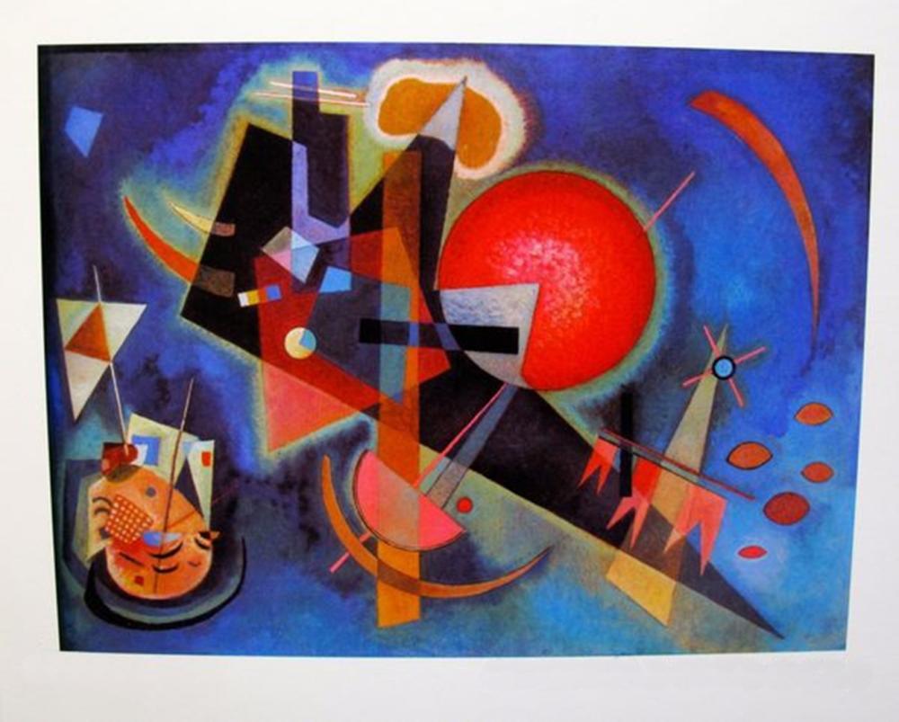 Wassily Kandinsky In Blue
