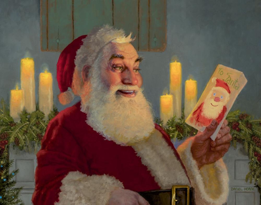 Daniel Horne…A Gift For Santa (detail)