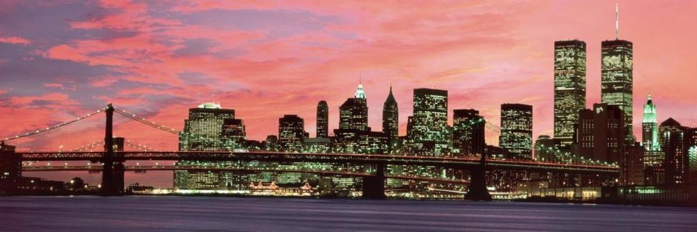 RICHARD BERENHOLTZ - MANHATTAN AT NIGHT
