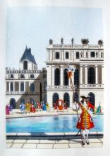 Jean Gradassi Memoirs Of Cardinal Dubois 1950 Color Illustration