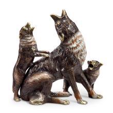 Art Desert Howlers (coyote and cub)