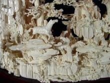 Framed Bone Horses Mountain