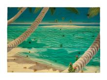 Spring Tide By Dan Mackin Painting Print On Decorative Wood Wall Décor