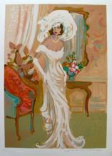 Isaac Maimon Candide Hand Signed Limited Edition Serigraph