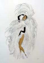 Al Hirschfeld  Josephine Baker In Paris