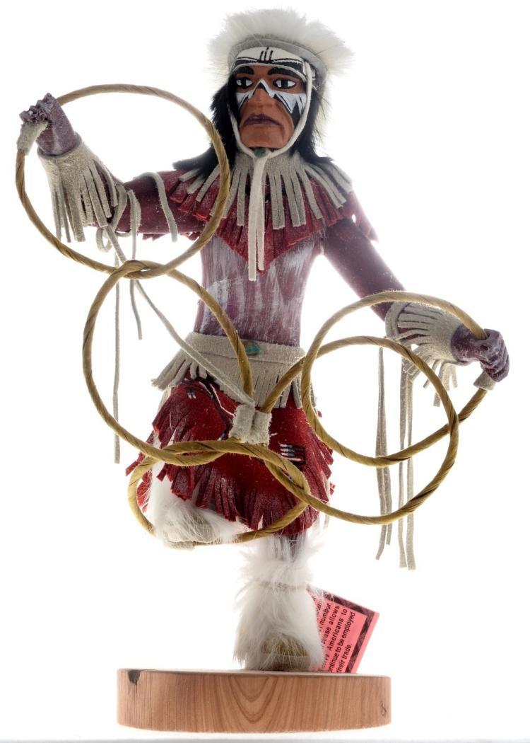 Hoop Dancer Kachina Doll Golfer Trophy Collection