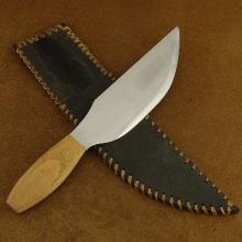 Heavy Duty Steel Skinner Knife by Wild Bill