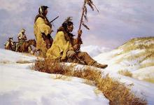 Howard Terpning - Signals In The Wind