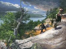 John Buxton - Rogers Rangers Toward Ticonderoga 1759