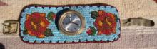 Rare Vintage Collector's Beaded Roses Watch Bracelet