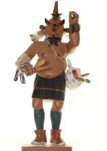Hopi Mudhead Kachina Doll Large Carving By Henry Shelton