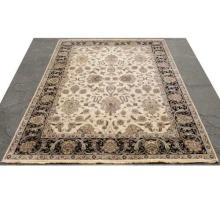 Traditional Persian Wool Rug Room Size Neutral Colors 10 x 14 Feet