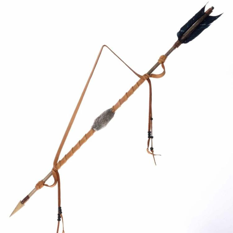 Handmade Ceremonial Arrow Great Plains Indians