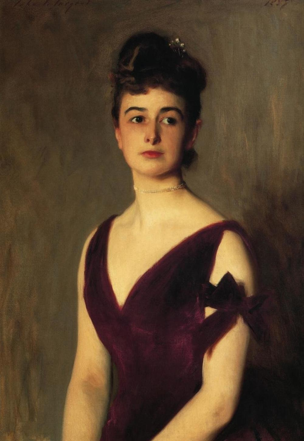 JOHN SINGER SARGENT - MRS CHARLES E INCHES LOUISE POMEROY