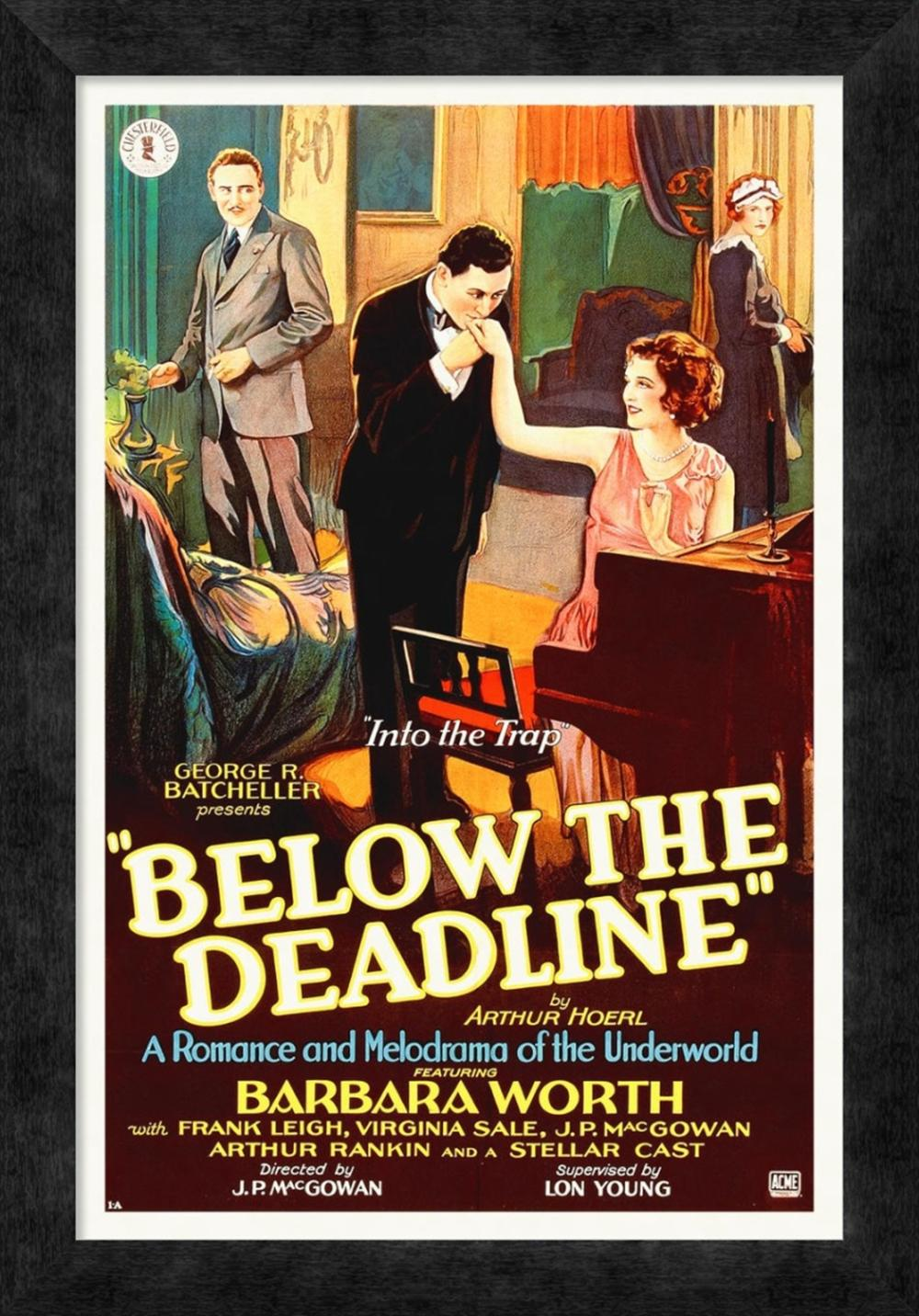 BELOW THE DEADLINE WITH BARBARA WORTH, 1914