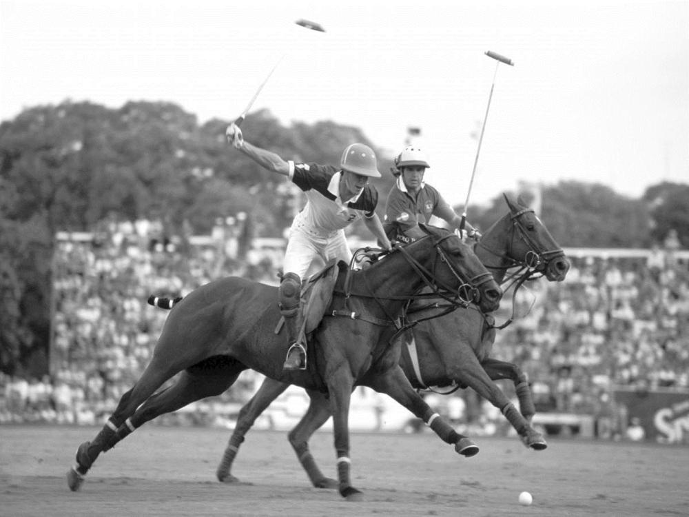 ANONYMOUS ARTIST - POLO PLAYERS, ARGENTINA