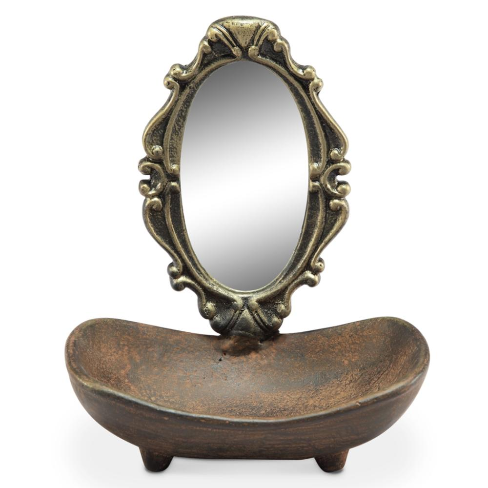 Soap Dish with Vanity Mirror