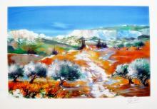 Ella Fort  Landscape In Provence France
