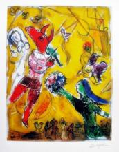 Marc Chagall The Dance & The Circus