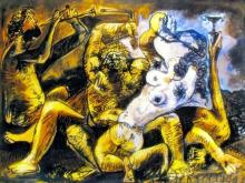 Pablo Picasso (After) Bacchanal