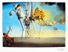 Salvador Dali The Temptation Of St. Anthony
