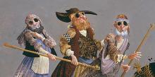 James C. Christensen   The Blind Leading The Blind
