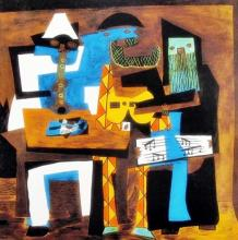 Pablo Picasso (After) Three Musicians